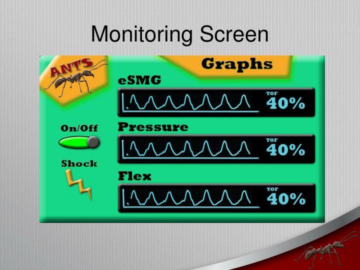 Monitoring Screen