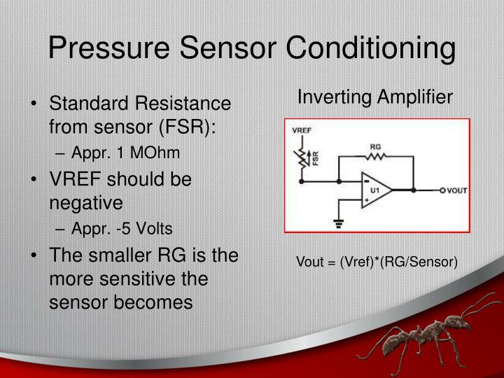 Pressure Sensor Conditioning
