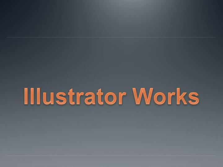 Illustrator works