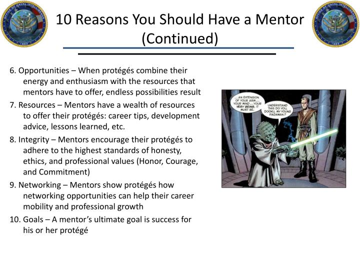 10 Reasons You Should Have a Mentor