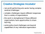 creative strategies incubator4