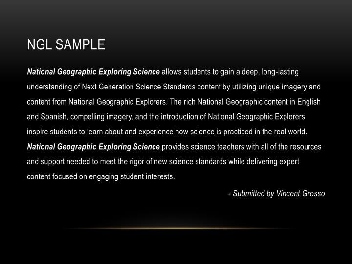 NGL Sample