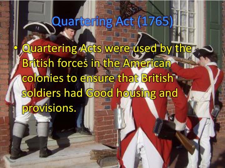Quartering Act (1765)