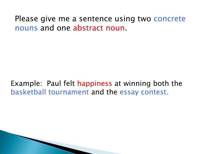 Please give me a sentence using two