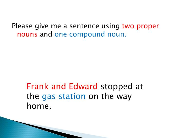 Please give me a sentence using