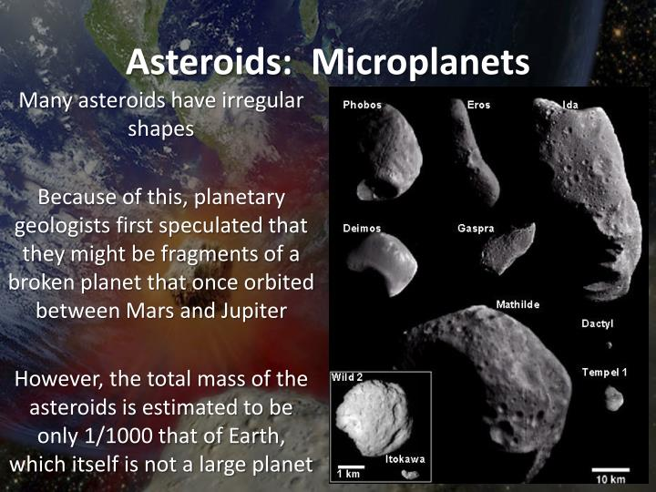 Asteroids: