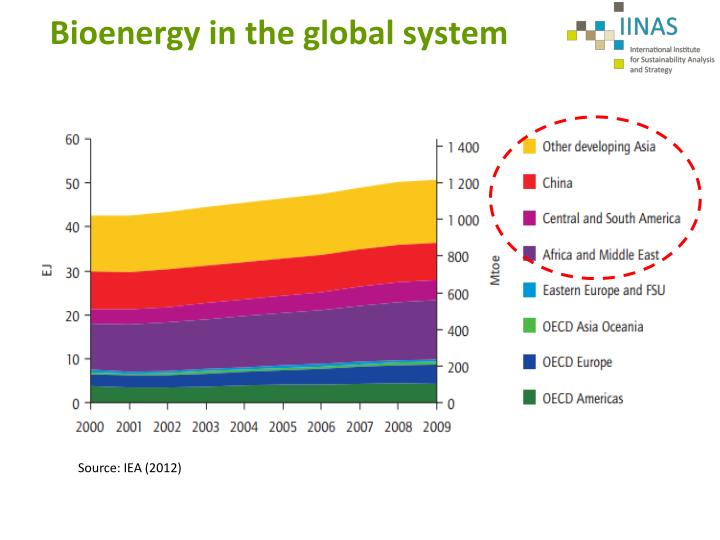 Bioenergy in the global system