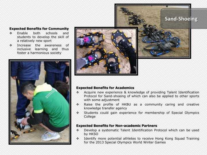 Sand-Shoeing