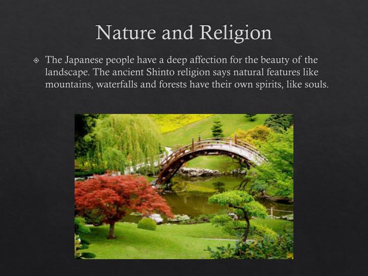Nature and Religion