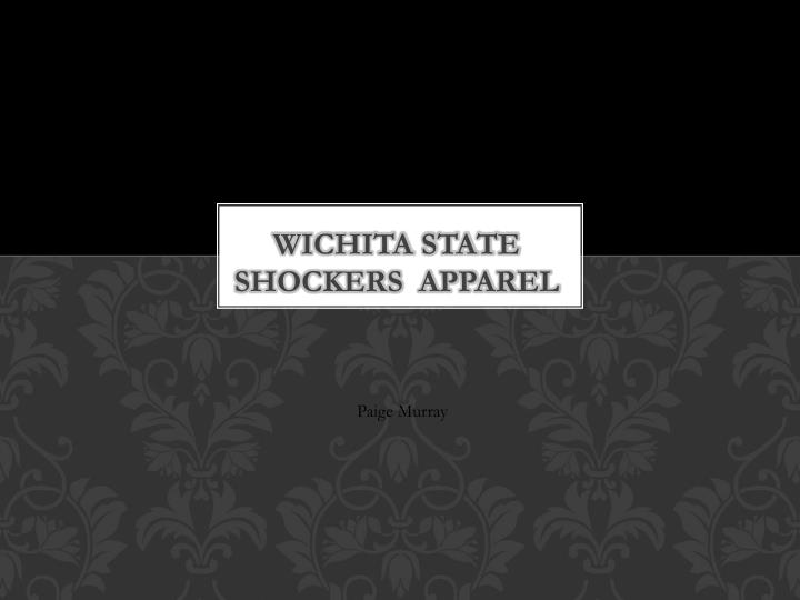 Wichita State Shockers  Apparel