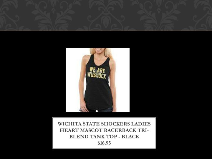 Wichita State Shockers Ladies Heart Mascot