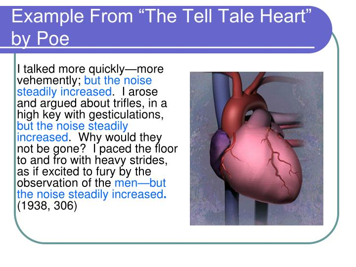 "Example From ""The Tell Tale Heart"" by Poe"