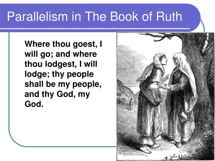 Parallelism in The Book of Ruth