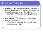 structural distinctions2