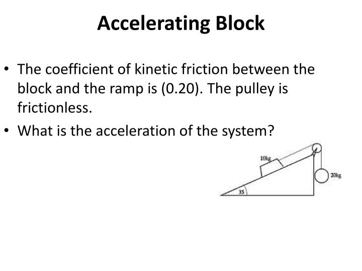 Accelerating Block