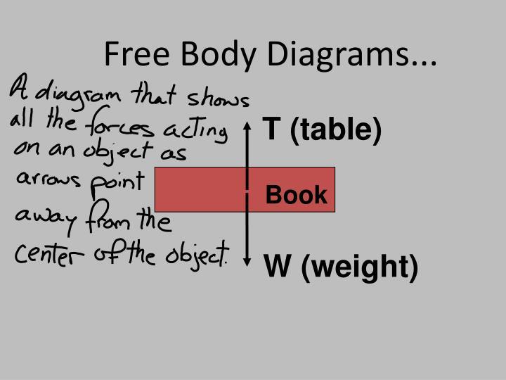 Free Body Diagrams...