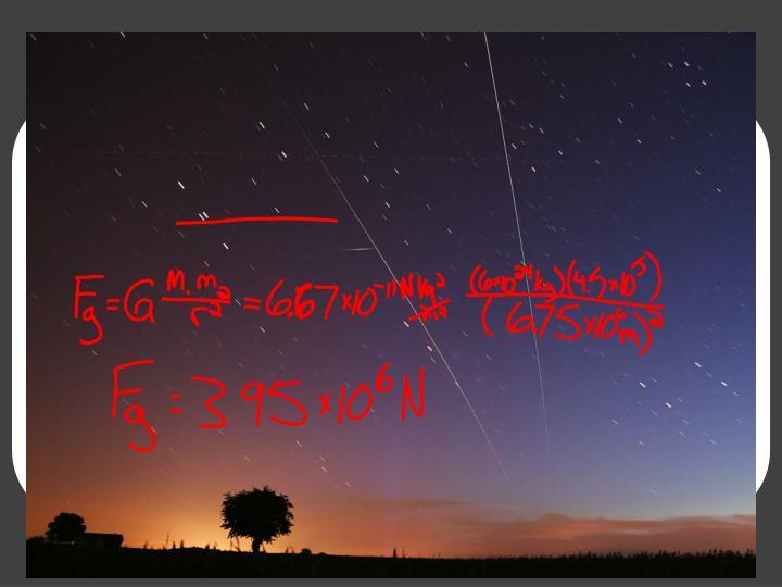 It looks like a shooting star