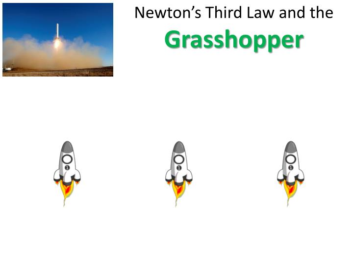 Newton's Third Law and the