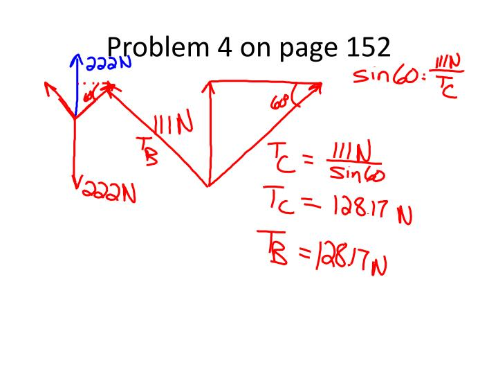 Problem 4 on page 152