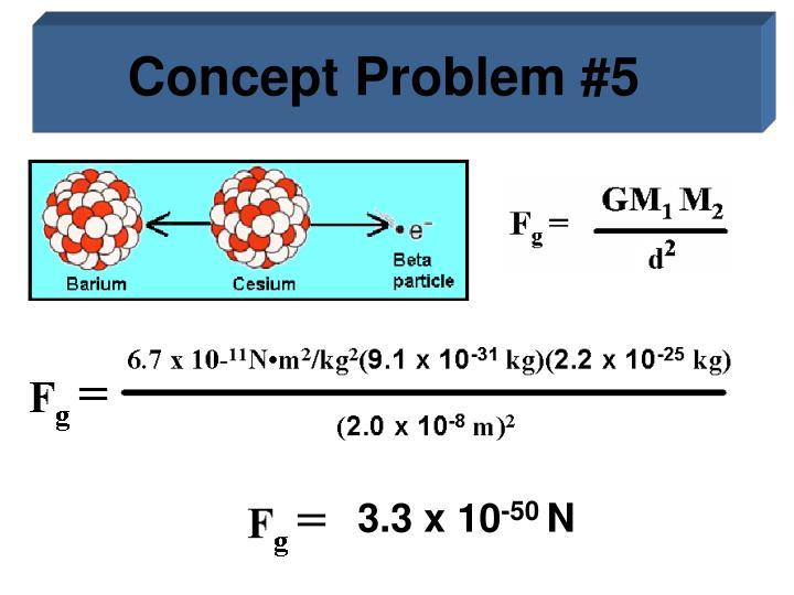 Concept Problem #5