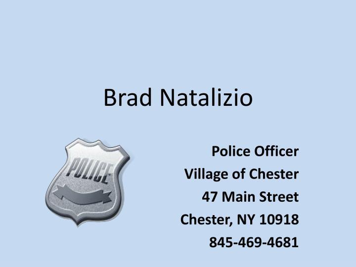 Brad Natalizio