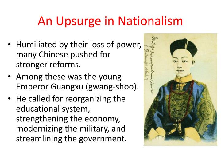 An Upsurge in Nationalism
