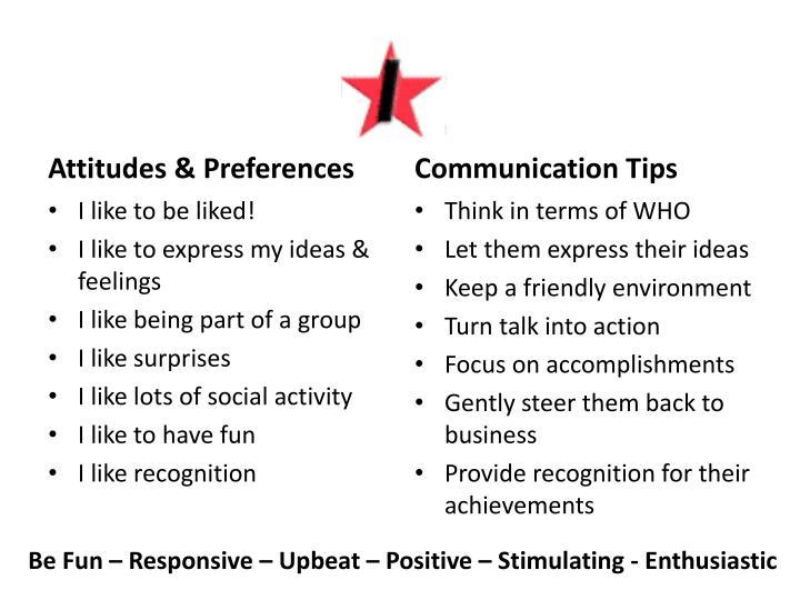 Attitudes & Preferences