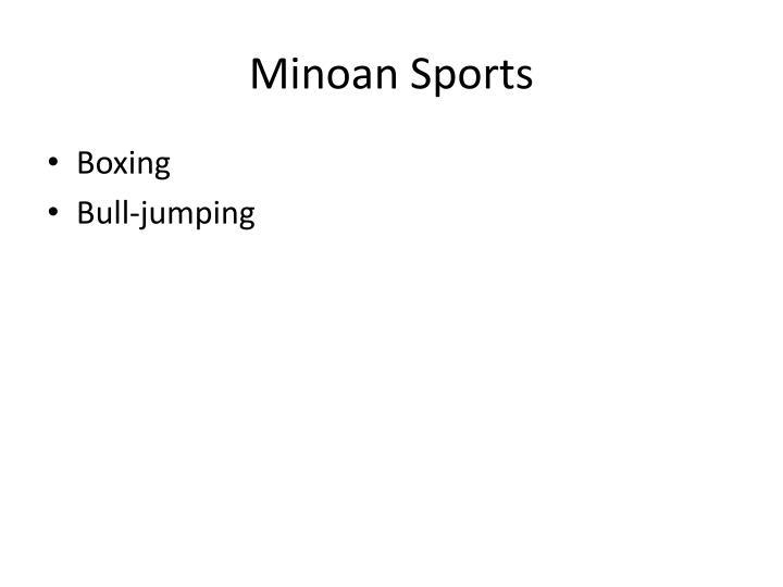 Minoan Sports