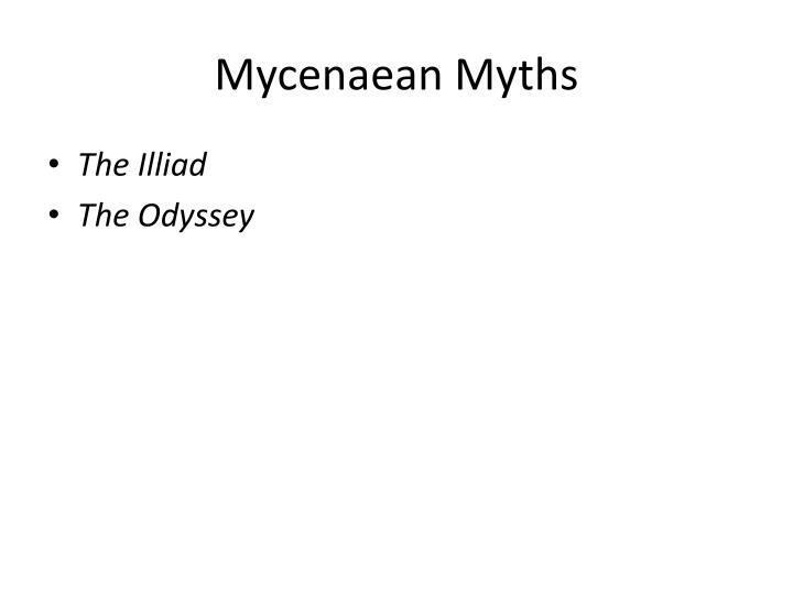 Mycenaean Myths