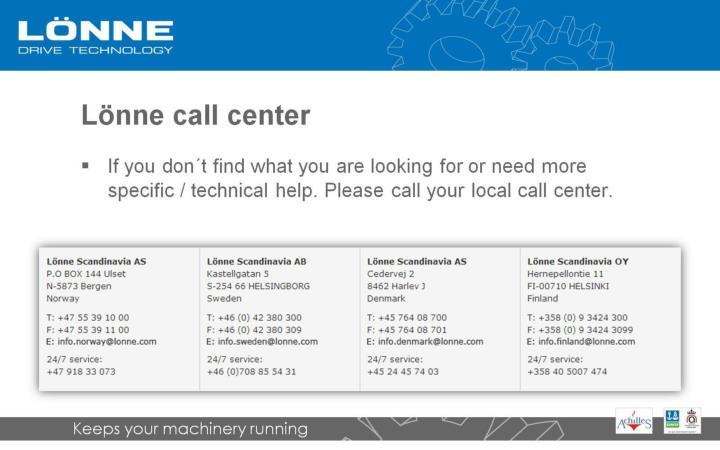 Lönne call center