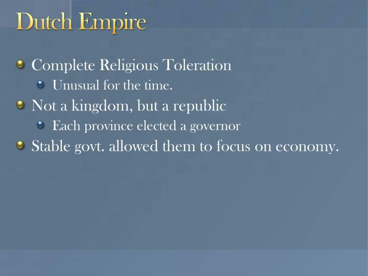 Dutch Empire