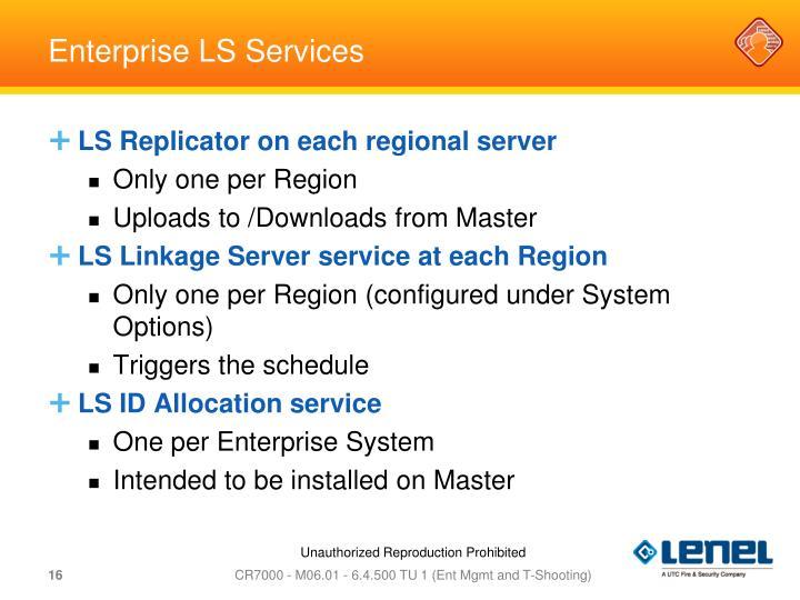 Enterprise LS Services