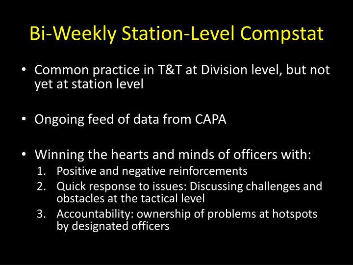 Bi-Weekly Station-Level