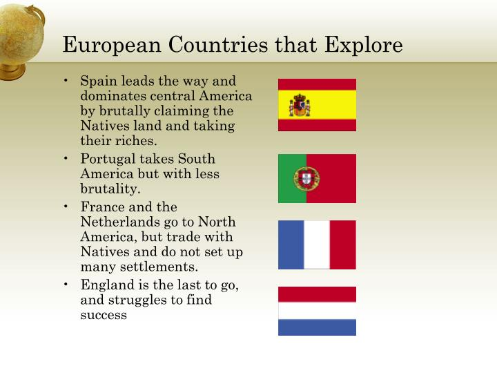 European Countries that Explore