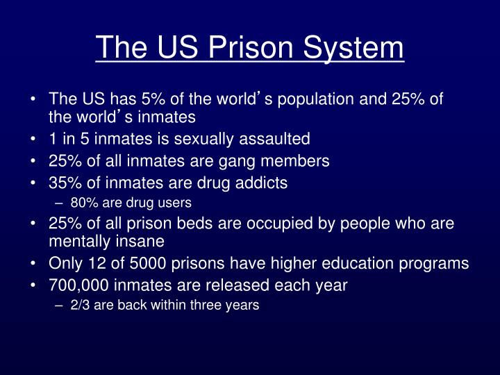 The US Prison System