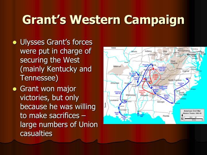 Grant's Western Campaign