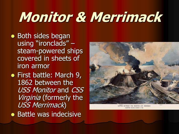 Monitor & Merrimack