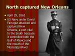 north captured new orleans