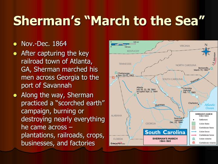 """Sherman's """"March to the Sea"""""""