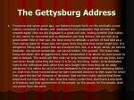 the gettysburg address1