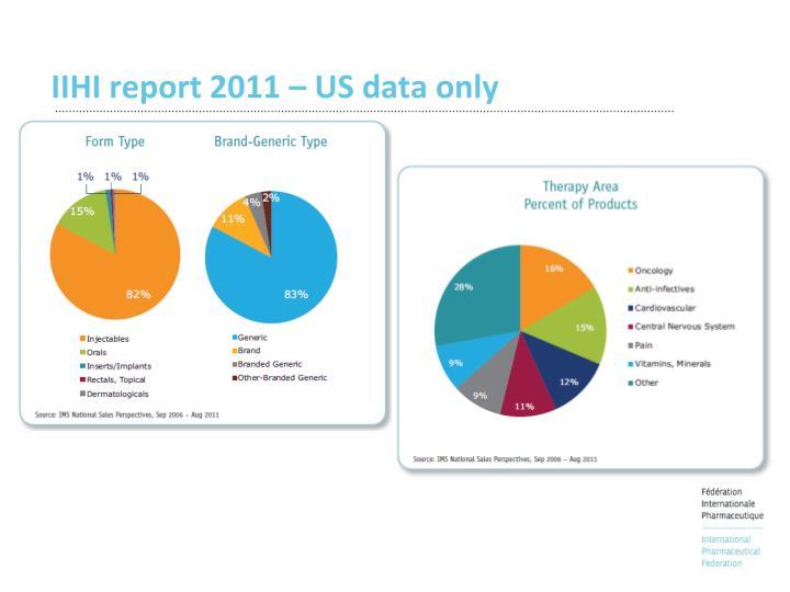 IIHI report 2011 – US data only