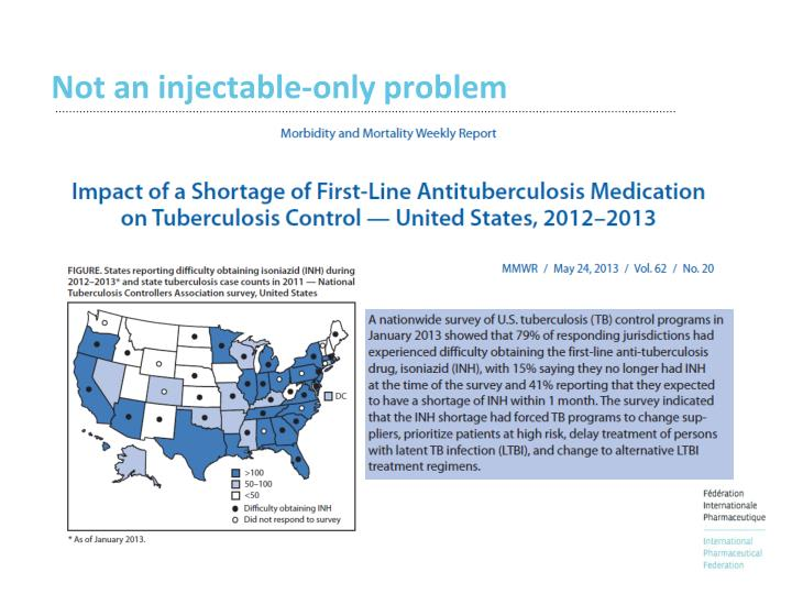 Not an injectable-only problem