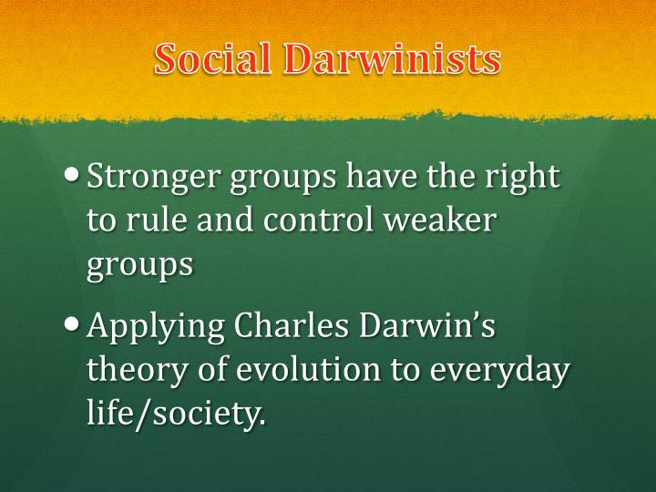Social Darwinists