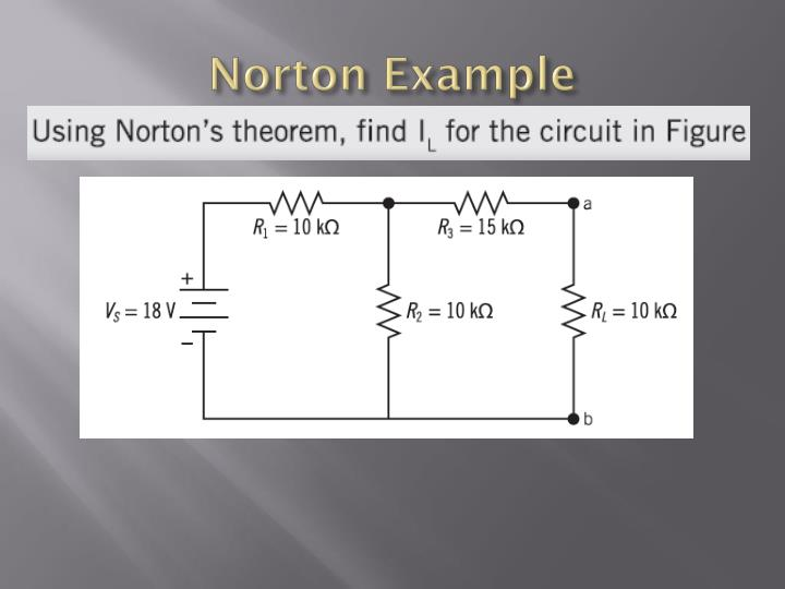 Norton Example