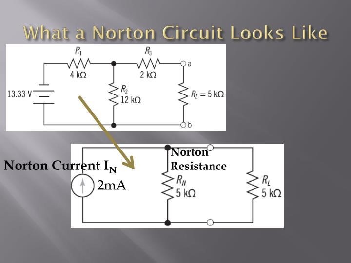What a Norton Circuit