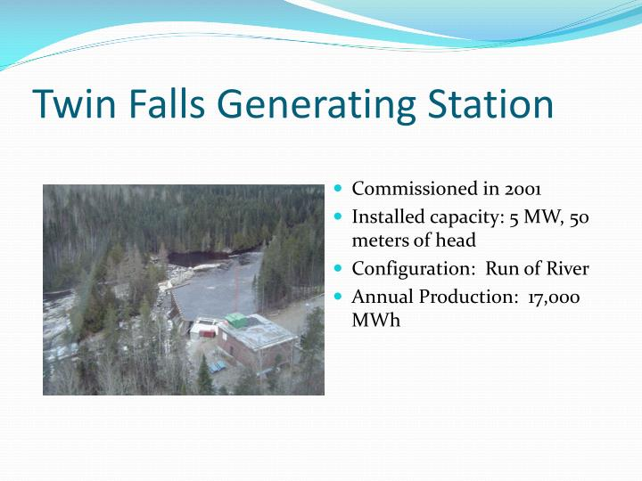 Twin Falls Generating Station