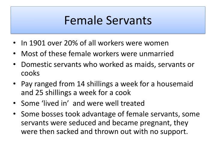 Female Servants