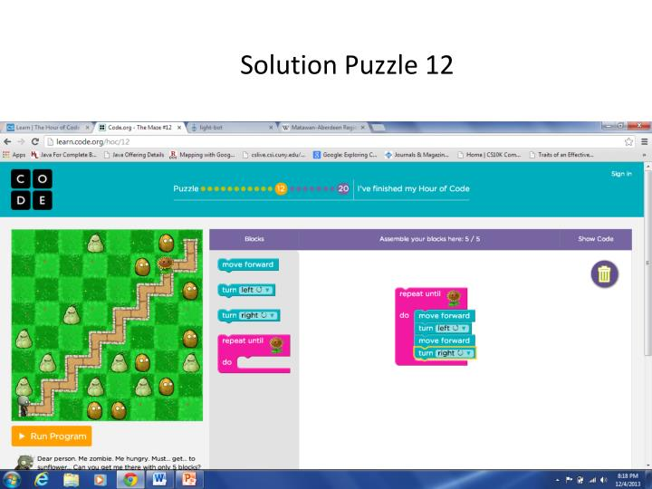 Solution Puzzle 12