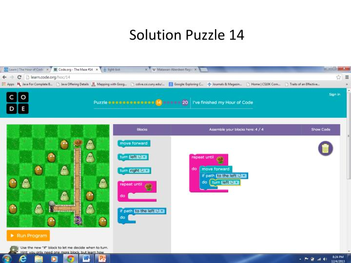 Solution Puzzle 14