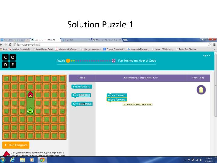 Solution Puzzle 1